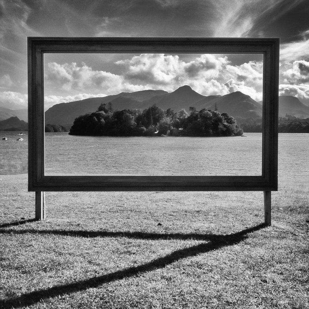Derwent framed